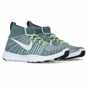 Nike Free Train Force Flyknit 14 Sneakers Green